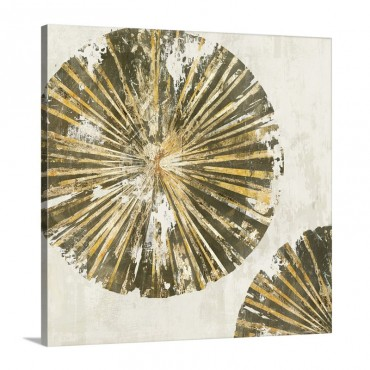 Gold Plate I I Wall Art - Canvas - Gallery Wrap