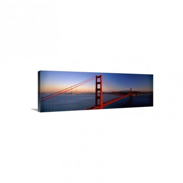 Golden Gate Bridge San Francisco CA Wall Art - Canvas - Gallery Wrap