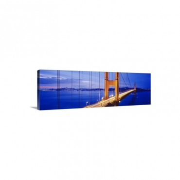 Golden Gate Bridge San Francisco CA Wall Art - Canvas - Gallery Wrap