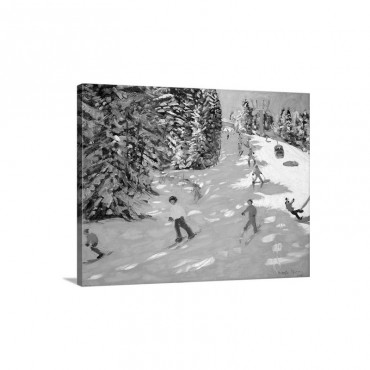 Gondola Austrian Alps 2004 Wall Art - Canvas - Gallery Wrap