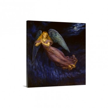Good Night Angel Wall Art - Canvas - Gallery Wrap