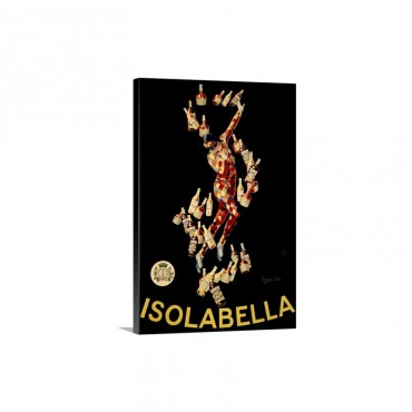 Isolabella Vintage Advertising Poster Wall Art - Canvas - Gallery Wrap
