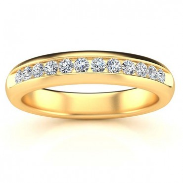 Jessica Diamond Ring - Yellow Gold