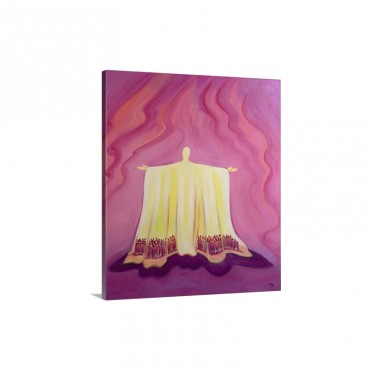 Jesus Christ Is Like A Tent Which Shelters Us in Life's Desert 1993 Wall Art - Canvas - Gallery Wrap