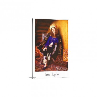 Joplin Janis  Wall Art - Canvas - Gallery Wrap