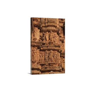 Khajuraho India Wall Art - Canvas - Gallery Wrap
