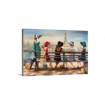 Ladies Day Out Wall Art - Canvas - Gallery Wrap