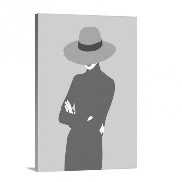 Lady No 5 Wall Art - Canvas - Gallery Wrap