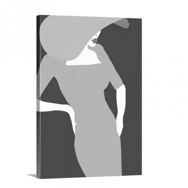 Lady No 17 Wall Art - Canvas - Gallery Wrap