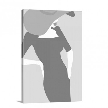 Lady No 20 Wall Art - Canvas - Gallery Wrap
