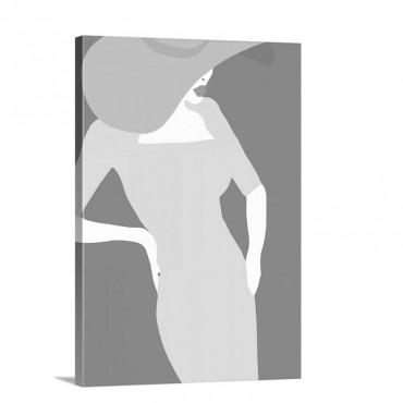 Lady No 19 Wall Art - Canvas - Gallery Wrap