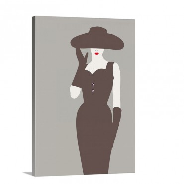 Lady No 15 Wall Art - Canvas - Gallery Wrap