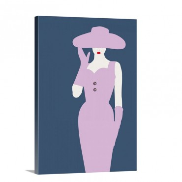 Lady No 14 Wall Art - Canvas - Gallery Wrap
