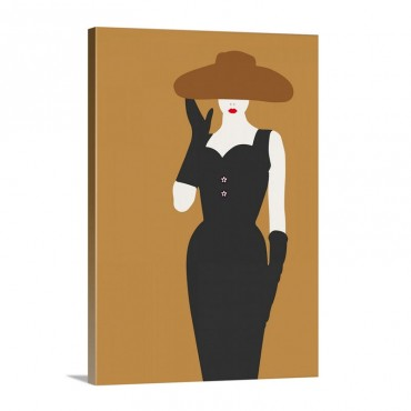 Lady No 16 Wall Art - Canvas - Gallery Wrap