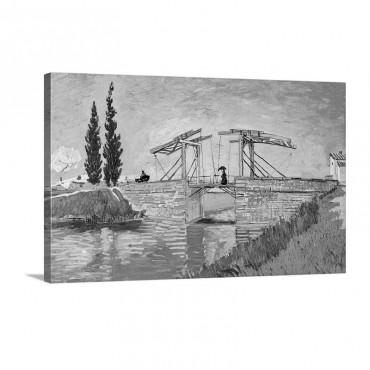 Langlois Bridge At Arles Wall Art - Canvas - Gallery Wrap
