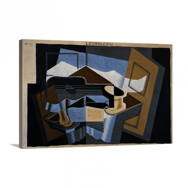 Le Canigou By Juan Gris Wall Art - Canvas - Gallery Wrap