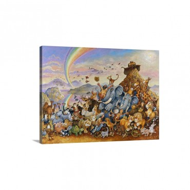 Leaving The Ark Wall Art - Canvas - Gallery Wrap