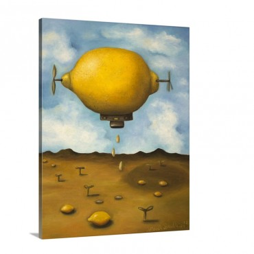 Lemon Drops Wall Art - Canvas - Gallery Wrap