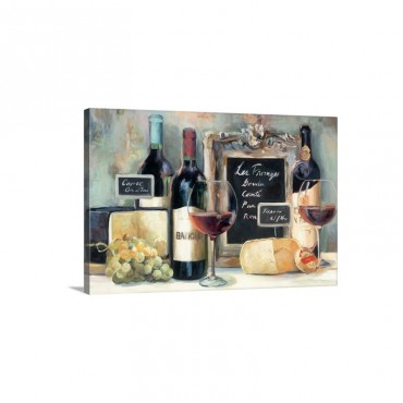 Les Fromages Wall Art - Canvas - Gallery Wrap