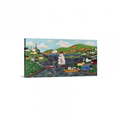 Life On The River I I Wall Art - Canvas - Gallery Wrap