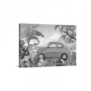 Little Cinquecento Wall Art - Canvas - Gallery Wrap