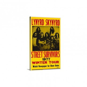 Lynyrd Skynyrd 1978 Wall Art - Canvas - Gallery Wrap