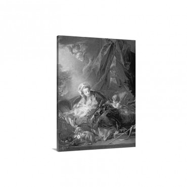 Madonna And Child 18 th Century Wall Art - Canvas - Gallery Wrap