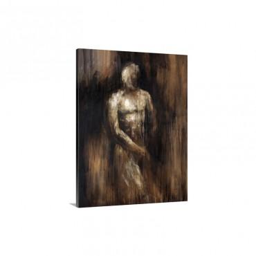 Male Nude I I Wall Art - Canvas - Gallery Wrap