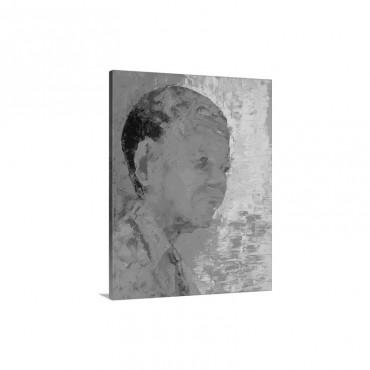 Mandela 1993 Wall Art - Canvas - Gallery Wrap