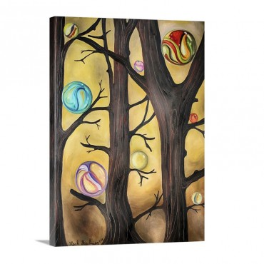 Marble Forest I Wall Art - Canvas - Gallery Wrap