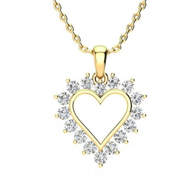 Maria Diamond Necklace - Yellow Gold