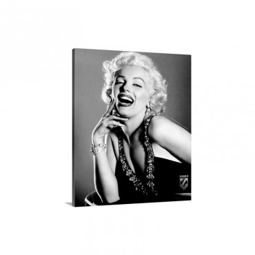 Marilyn Monroe B Wall Art - Canvas - Gallery Wrap