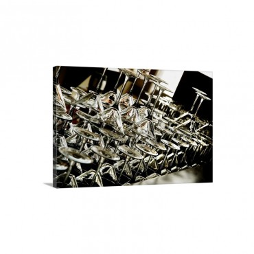 Martini Glasses Wall Art - Canvas - Gallery Wrap