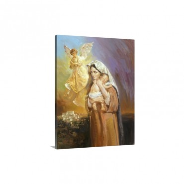 Mary Wall Art - Canvas - Gallery Wrap