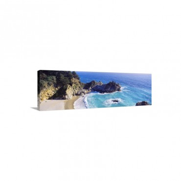 McWay Cove Big Sur CA Wall Art - Canvas - Gallery Wrap