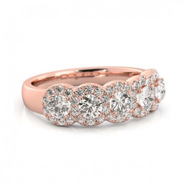Melody Ring - Rose Gold