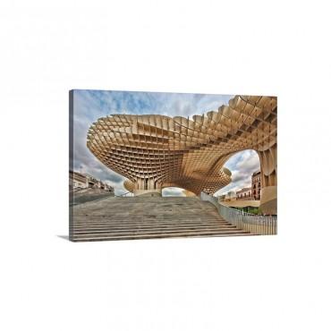 Metropol Parasol Building Wall Art - Canvas - Gallery Wrap