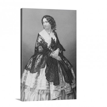 Miss Arabella Goddard 1836 1922 Wall Art - Canvas - Gallery Wrap