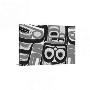 Native American Art V I I Wall Art - Canvas - Gallery Wrap