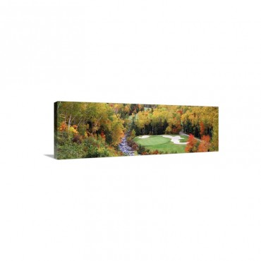 New England Golf Course New England Wall Art - Canvas - Gallery Wrap