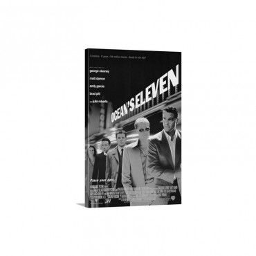 Oceans Eleven 2001 Wall Art - Canvas - Gallery Wrap