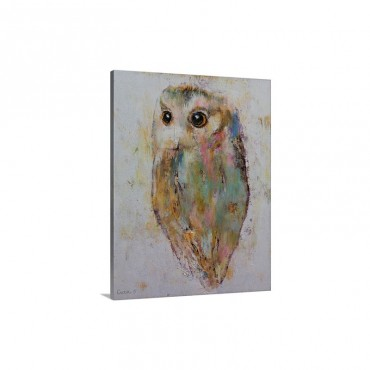 Owl Painting Wall Art - Canvas - Gallery Wrap