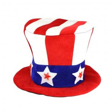 Patriotic LED Light Up Hat