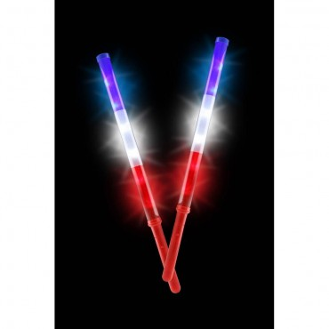 Patriotic Light Up Batons Set