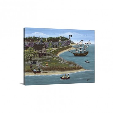 Pirates Of Port St John Wall Art - Canvas - Gallery Wrap