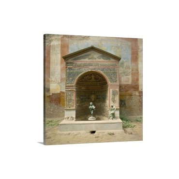 Pompeii Campania Italy Europe Wall Art - Canvas - Gallery Wrap