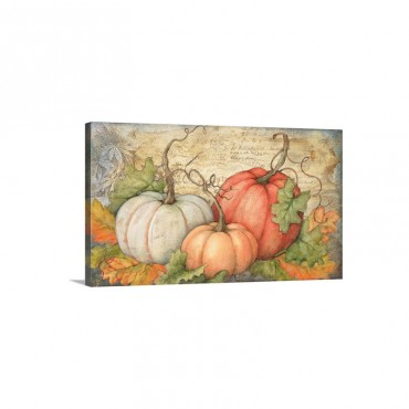 Pumpkins Wall Art - Canvas - Gallery Wrap