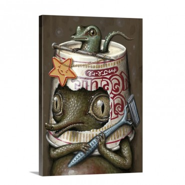 Refusuffix V I Wall Art - Canvas - Gallery Wrap