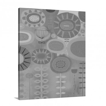 Retro Bloom I Wall Art - Canvas - Gallery Wrap