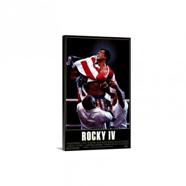 Rocky 4 1985 Wall Art - Canvas - Gallery Wrap